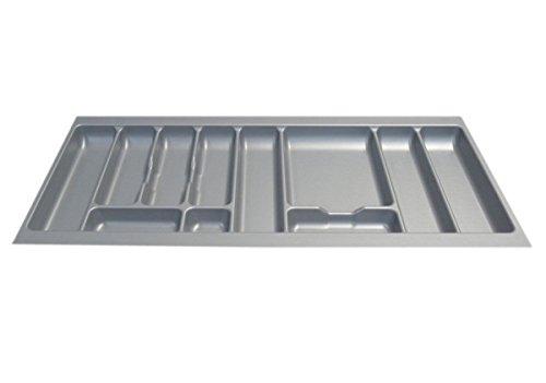 Couverts en argent tiroir insère (Gamme de Tailles), Plastique, argent, 1000mm (actual width 912mm)