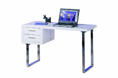 Links - blanco 11 - scrivania. dim: 120x55x76 h cm. col: bianco. mat: legno massello.