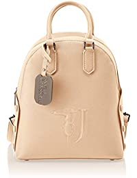 Trussardi Jeans Melissa Backpack Covered Studs, Zaino Donna, 26.5x30x11 cm (W x H x L)