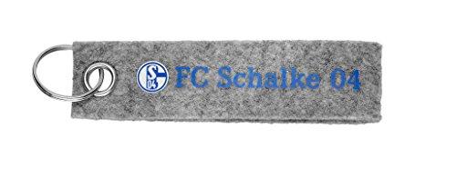 Schalke 04 Schlüsselanhänger Filz (Fußball-kumpel)
