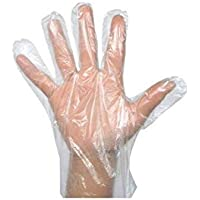 ZEONELY MART Transparent Hand Gloves_ 100pcs