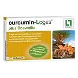 curcumin-Loges plus Boswellia, Inhalt:60 Kapseln