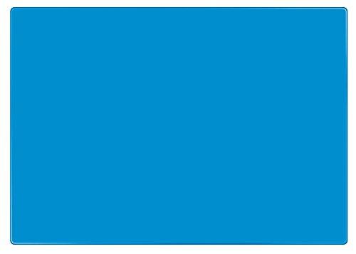 Veloflex 4634351 Bastelunterlage DIN A3, blau, rutschfest, abwischbar, Knetunterlage, Schreibunterlage Rutschfestes