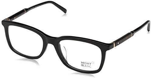 Montblanc Herren MB0638F Brillengestelle, Schwarz, 54