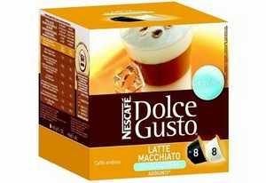 Find Nescafe Dolce Gusto Latte Macchiato Unsweetened 16 Capsules from Nescafe