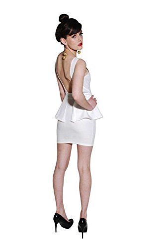 PILOT® Rückenschmerzen Schößchen Kleid in weiß Weiß -bsg-kelsterbach.de