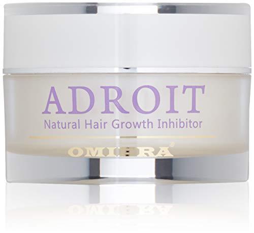 Omiera Labs Adroit – Naturl Haarwachstinhibitor. Minimieren Gesicht, Bikini, Und Körper Haaren (30 g)