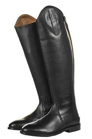 HKM Reitstiefel -Italy-,Soft Leder, kurz/Standardweite, schwarz, 38