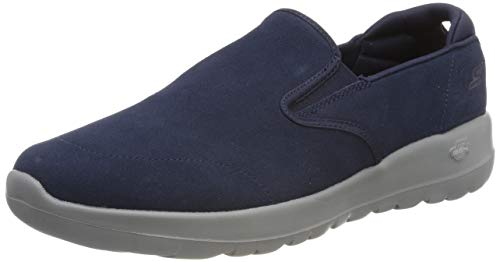 Skechers Damen Go Walk Joy Slip On Sneaker, Blau (Navy Grey Nvgy), 39 EU (Skechers Go Walk Damen Navy)