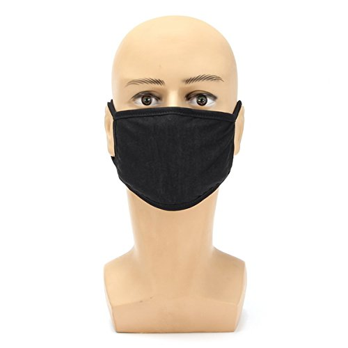 JINHUGU Motorrad Winter Dicker Baumwolle Staubdicht Gesichtsmaske Männlichen Einfarbig Modell Masken New