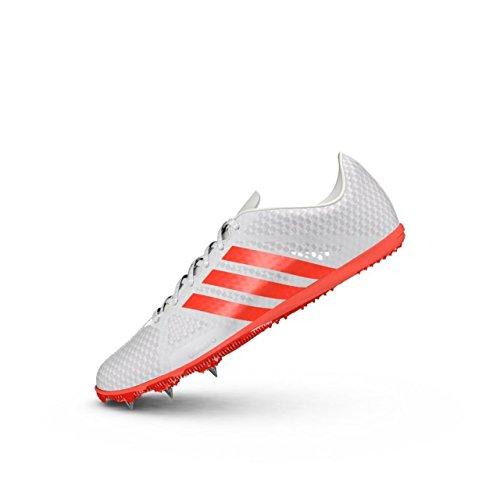 adidas Adizero Ambition 3 Herren Lauf Spikes/Turnschuhe-White-47.33
