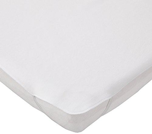 FabiMax 2658 Wasserdichte, kochfeste Molton-Matratzenauflage für Beistellbett und Wiege, 55 x 90 cm