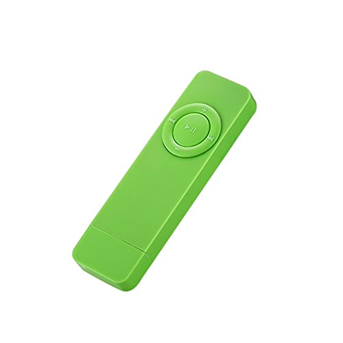 Mp3-player 512 Mb Flash-speicher (Digital U Disk Tragbarer MP3-Player mit 512MB Speicher und verlustfreiem Sound grün)