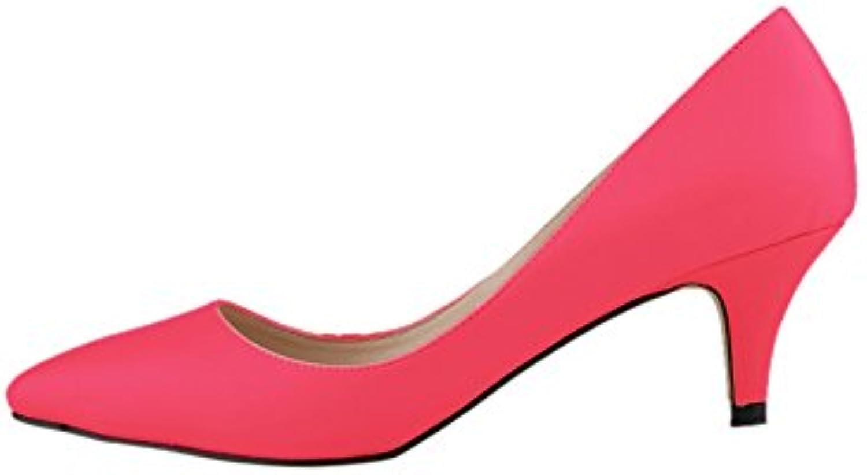 les femmes à faible fereshte bouts fermés talons de de de chaussures en cuir ou de matt b01c3wnsem confort 7f7b67
