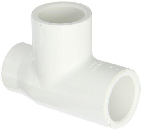 Spears PVC Rohrverschraubungen, reduziert Tee, Schedule 40, Sockel X NPT Buchse x Sockel, 3/4