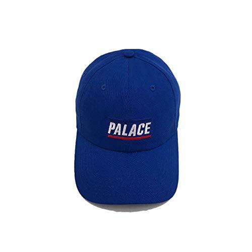 Hut p Brief Baseballmütze Männer und Frauen Paar Wilden Schatten Straße lässig Mütze blau einstellbar