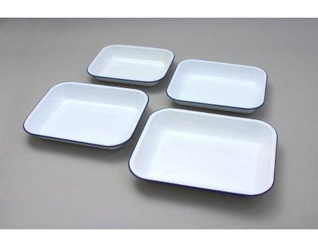 Falcon 61034 - 34Cm Enamel Bake Pan in White