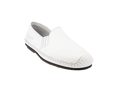 Mocassins Dingo 106 - 6 coloris Blanc