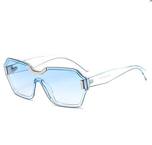 GY-HHHH Sonnenbrille Windschutzscheibe große Kiste verbunden Männer und Frauen blauKlassisches Retro-Outdoor-Essential