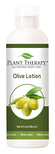 Olive Lotion 8 oz Aromatherapy Natural, Made with 100% Pure Essential Oils - Infusion Lotion
