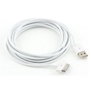 TECHGEAR Extra lange 3 m hohe Qualität USB-Kabel für Apple iPod Touch 1st 2nd 3rd 4th Gen, iPod Nano 1st 2nd 3rd 4th 5th & 6th Gen, iPod Classic, iPod Video, iPhone 3G 3GS 4 4s [3 Meter/10 Füße]