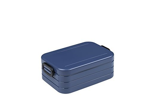 Mepal Nordic Denim Lunchbox take a Break midi, Plastik, 18.5 x 12 x 6.5 cm