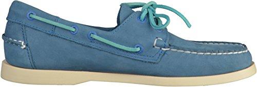 Sebago B720338 Herren Halbschuhe Blau(Hellblau)