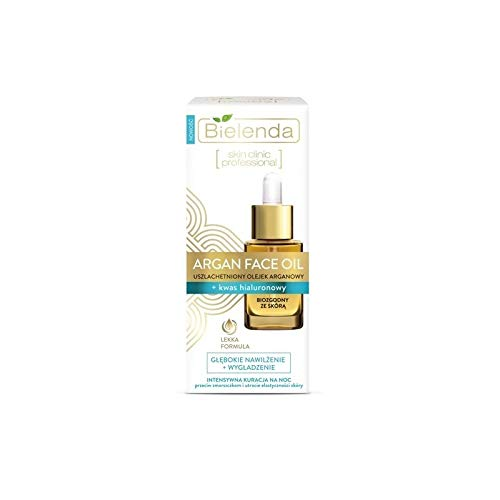 INTENSIVE NIGHT THERAPY - ARGAN FACE OIL - with Hyaluronic Acid 15 ml - against wrinkles and loss of skin elasticity