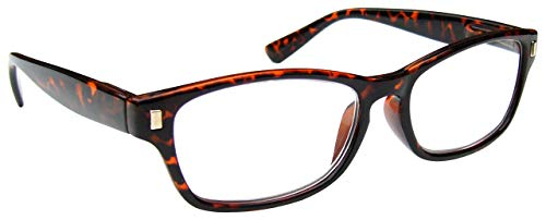 Braune Schildpatt Kurzsichtig Fernbrille Kurzsichtigkeit Herren Damen Federscharniere M10-2...