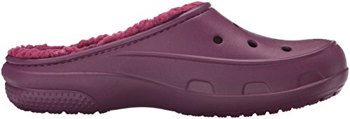 Crocs Freesail Plushlined Clog, Zoccoli Donna Viola (Plum)