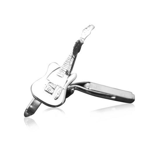 Men'Sterlingsilber elektrische Gitarre Fender Telecaster Manschettenknöpfe (Elektrische Fender-gitarre Bei)