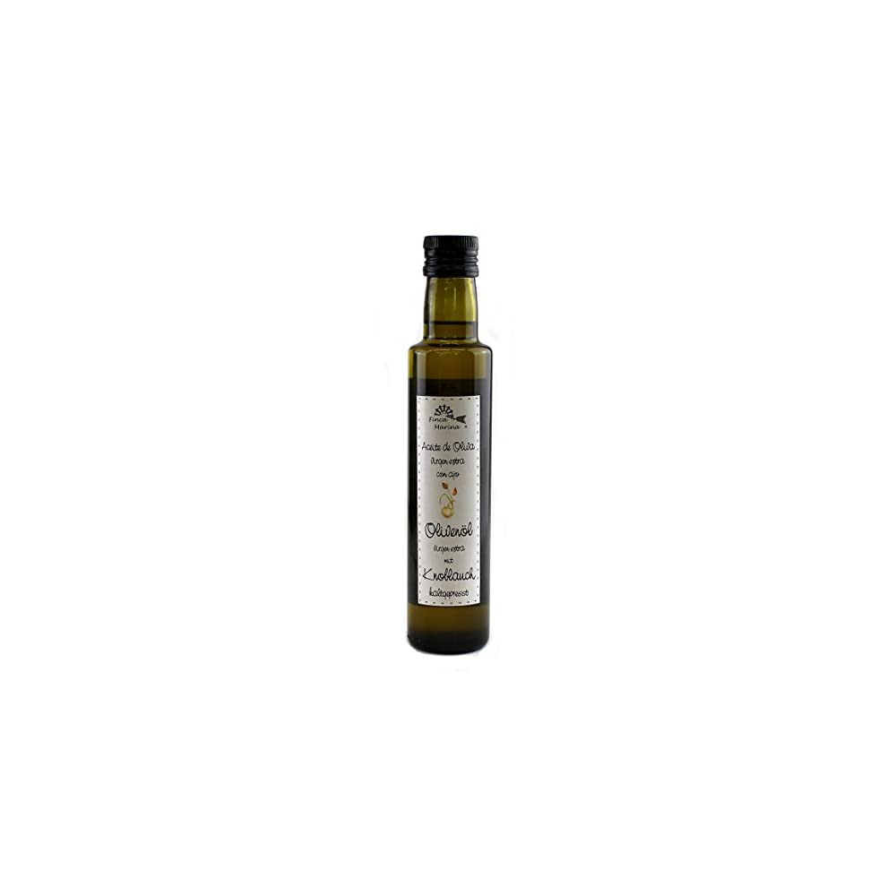 Knoblauchl Olivenl Mit Knoblauch 250ml