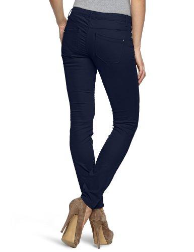 ONLY Damen Hose 15072920/SKINNY LOW LIVA PANT (Weitere Farben) Blau (Mood Indigo)