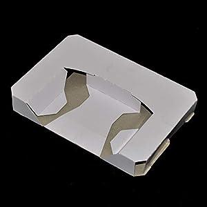 WiCareYo 10Pcs Kartonersatz Inneres Einlegeeinsatz-Behälter für N64 CIB Spiel-Patrone
