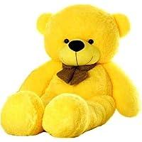 Soft Toys 3 Feet Long Teddy Bear - Color Yellow (Yellow)