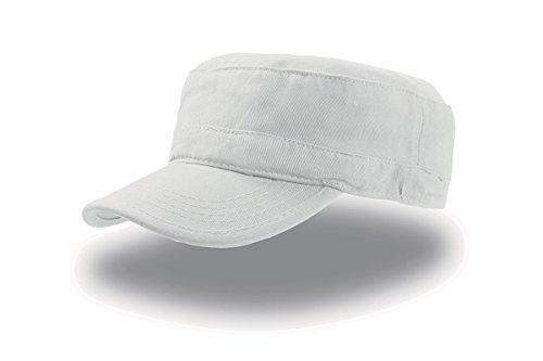 Cappellino trendy in cotone - Tank Bianco