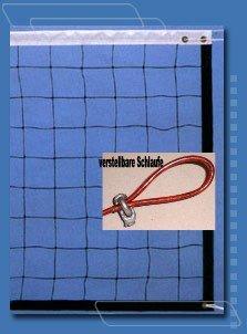 Tolles Volleyballnetz Top-Qualität m.Stahlseil 9,5 x 1m