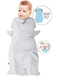 Wallaboo Saco de dormir, Funda para bebé swaddle, 100% algodón natural
