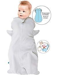 Wallaboo Saco de dormir, Funda para bebé swaddle, 100% algodón natural