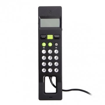 Hohe Qualität und vielfältige Netzplattformen USB-VoIP- Netzwerk Telefon ( mit Schirm ) (Schirm Für Telefon)