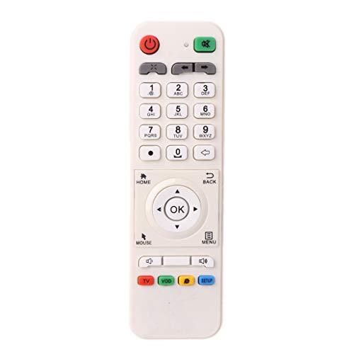 Mando a distancia universal de repuesto para TV LOOL Loolbox IPTV Box Great  BEE IPTV y modelo 5 o 6, color blanco