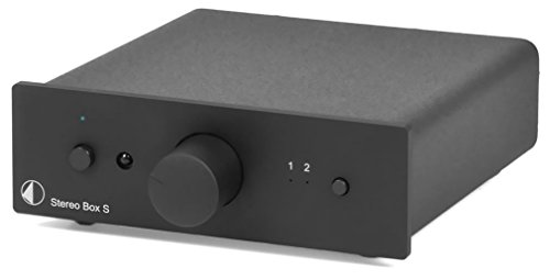 Pro-Ject Stereo Box S Vollverstärker schwarz