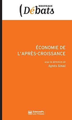 Economie de l'aprs-croissance: Politiques de l'Anthropocne II