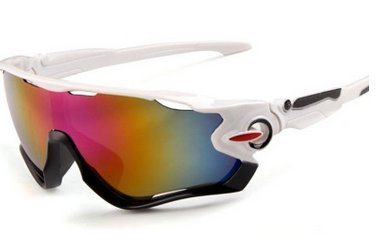 Sport-Sonnenbrille Weiß Lila Mercury Lens 1 Pack