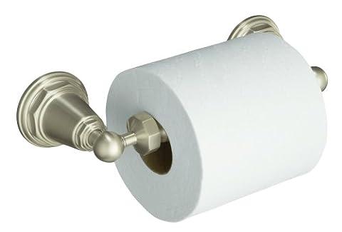 Nadelstreifen k-13114-bn Toilettenpapierhalter, Vibrant, Nickel gebürstet (Bn Vibrant Nickel Gebürstet Wc)