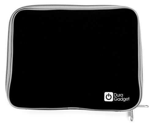 DURAGADGET Für BLAUPUNKT Endeavour 1100 Tablets Schwarze Neopren-Hülle, spritzwassergeschützt