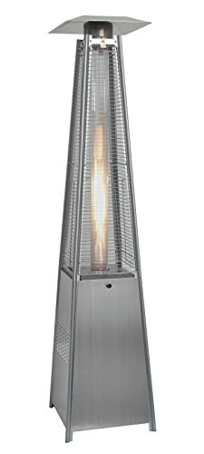 Littleborough Furniture Company Quartz Glass Tube Real Flame 13KW Gas Garden Outdoor Patio Heater