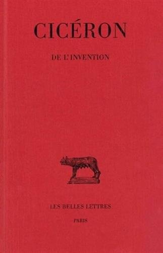 De l' Invention par Cicéron