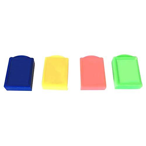 Magic Box Geschenk, für Kinder, zufällige Farbe, langlebige Requisiten, Schreibwaren, Unisex, Schule, Trick, Radiergummi, Kunststoff, Verschwinden Kinder Spielzeug, Wie abgebildet, Free Size (Magic Trick Radiergummi)
