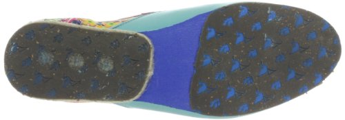 Stork Steps A7, Chaussures basses femme Multicolore (Turquoise/Light Pink)